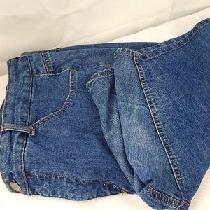Just My Size 24W stretch denim Bermuda shorts